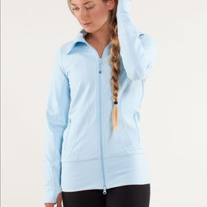 LuLuLemon Stride Light Blue Zip Up